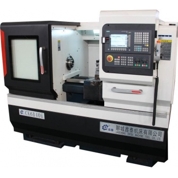 Токарный станок с ЧПУ CK6140 производства фирмы LXMT